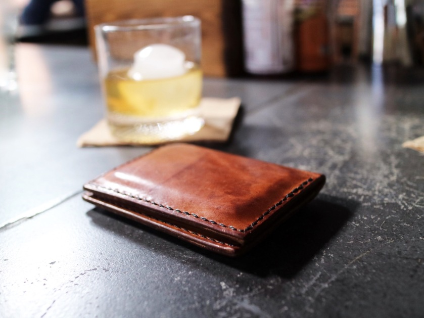 stanley wallet + whiskey